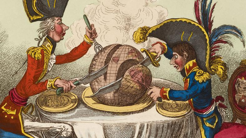 12 - Gillray's Caricatures of Pitt and Napoleon