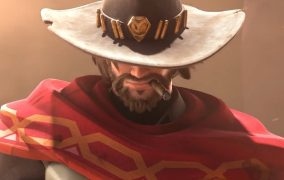 انیمیشن شخصیت McCree در بازی Overwatch