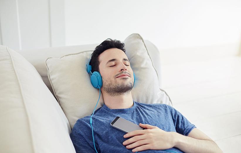 درمان کم خوابی با موسیقی