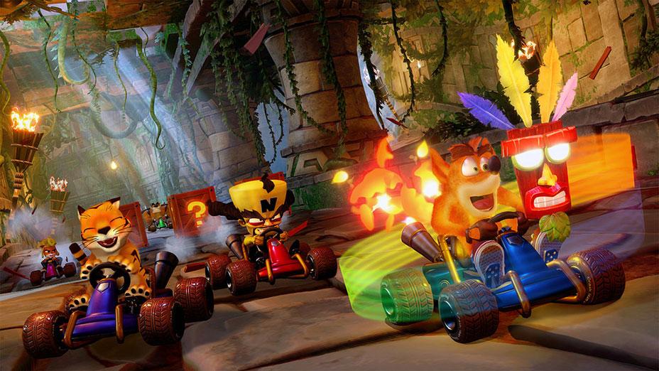 بازی Crash Team Racing: Nitro-Fueled