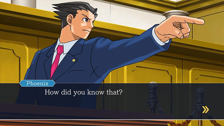 بازی Phoenix Wright: Ace Attorney Trilogy