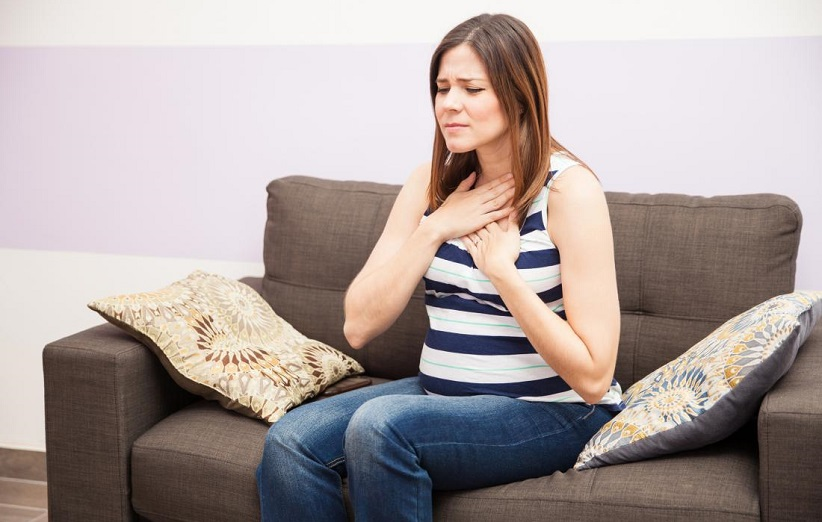 مشکلات تنفسی در بارداری