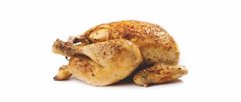 مرغ پخته