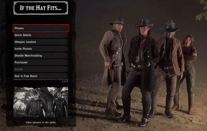 بخش آنلاین Red Dead Redemption 2