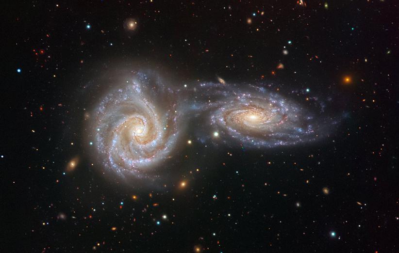 کهکشان برخوردی