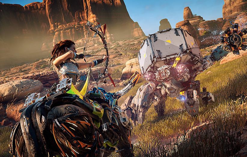 موتور بازی Horizon Zero Dawn