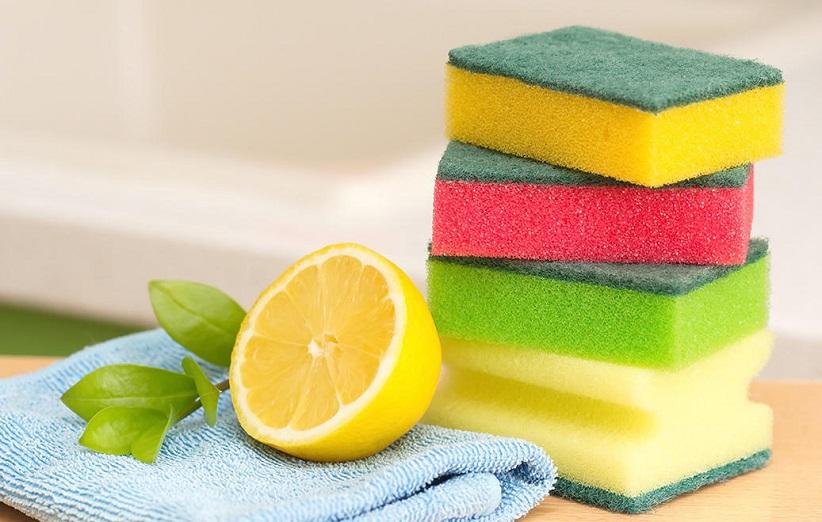 تمیز کردن اسکاچ ظرفشویی