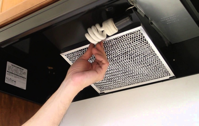 راه های تمیز کردن فیلتر هود