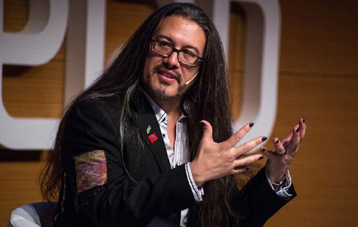 جان رومرو John Romero Long Hair