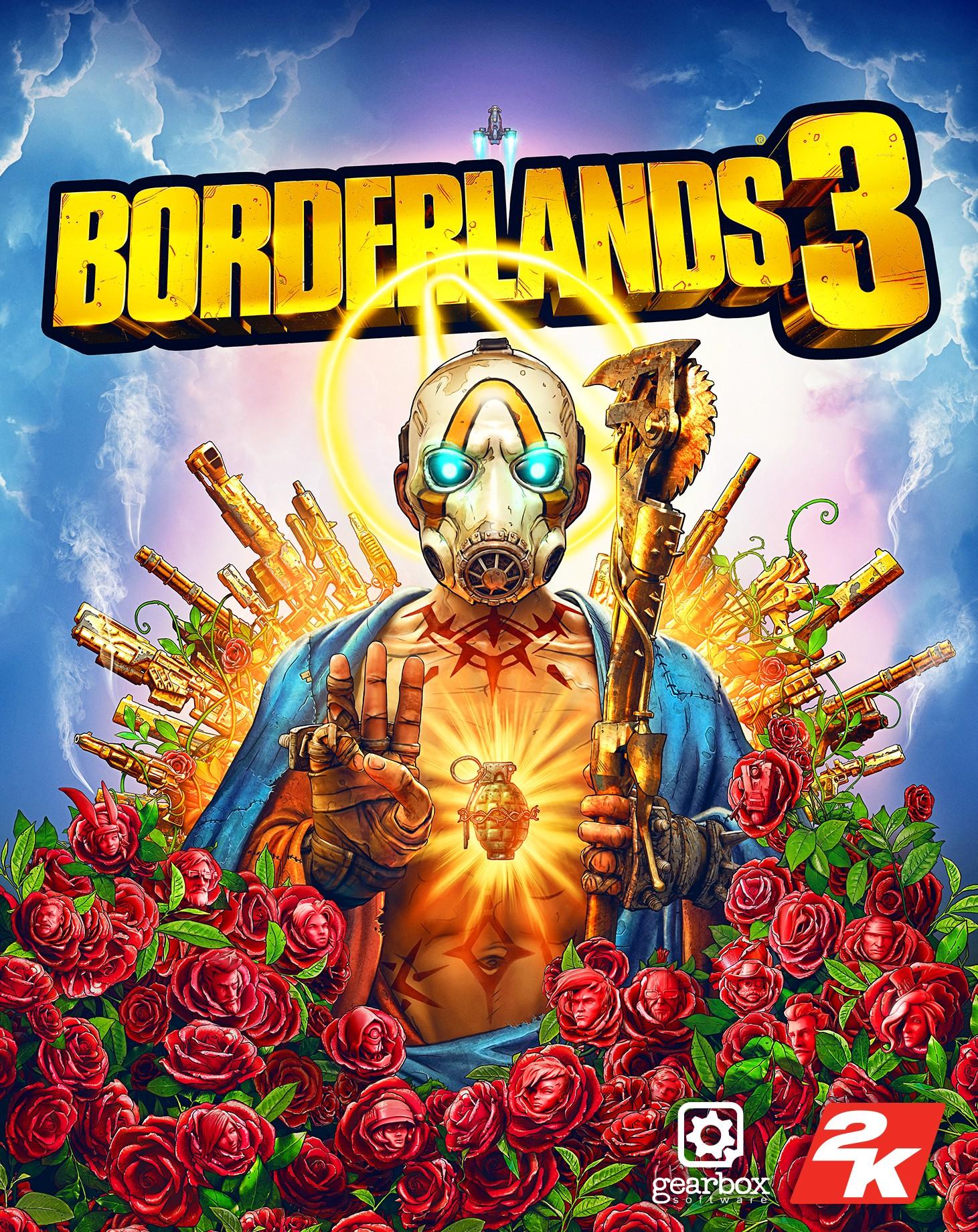 عکس روی جلد بازی Borderlands 3