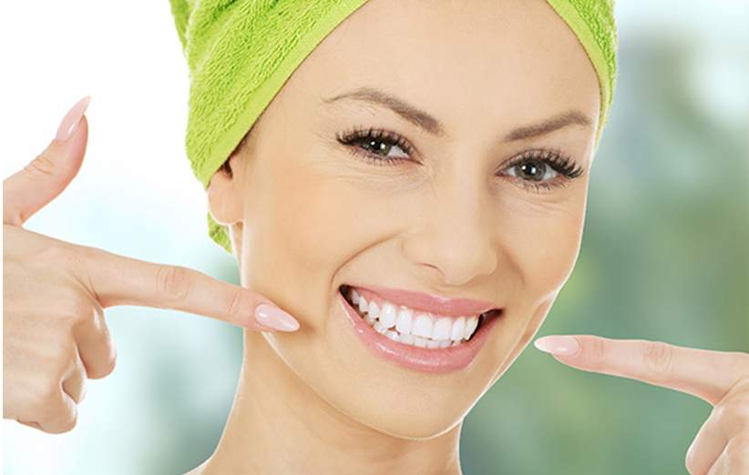 سفید کردن دندان در خانه