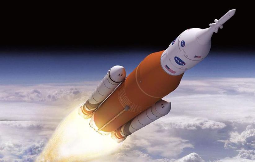 سامانهی پرتاب فضایی