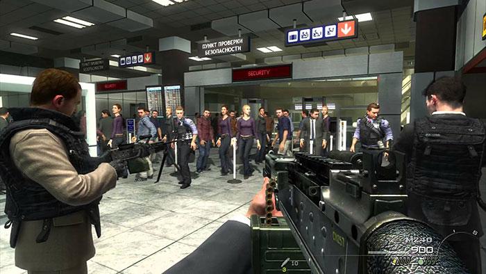 مرحله No Russian بازی Modern Warfare 2