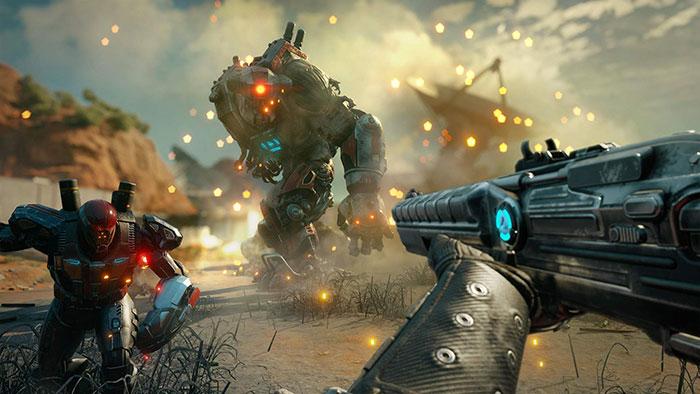 سلاح بازی Rage 2