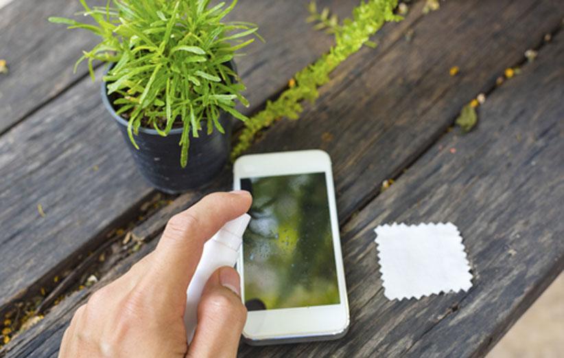 پاک کردن گوشی هوشمند