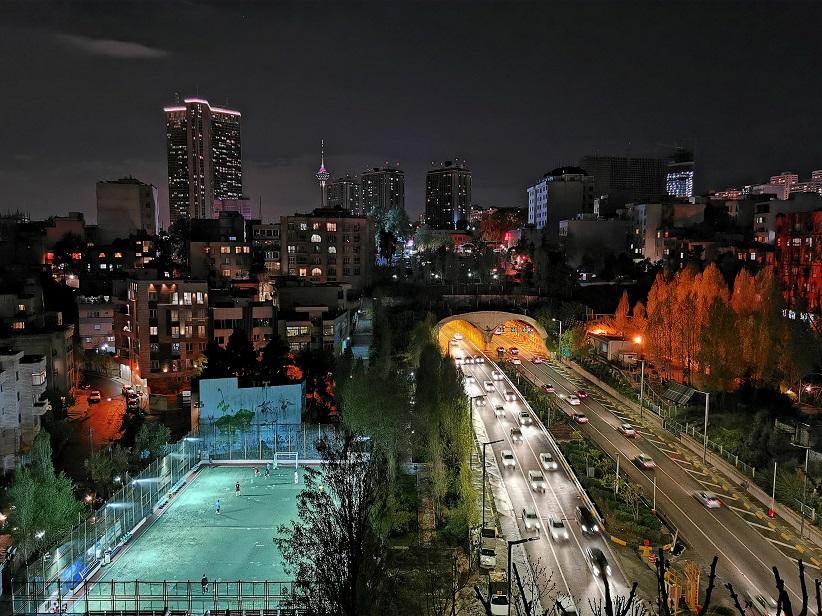 عکاسی با هواوی P30 Pro در شب
