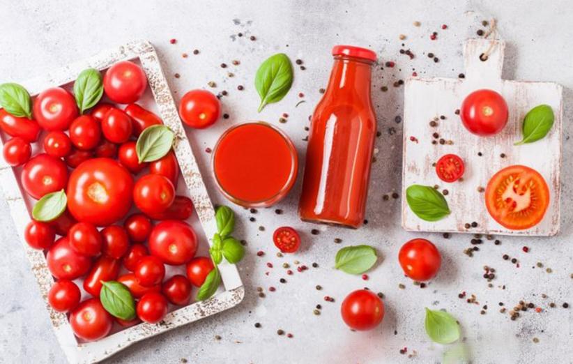 آب گوجه فرنگی و لاغری