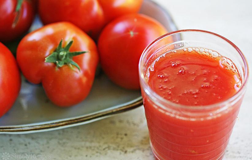 آب گوجه و لاغری