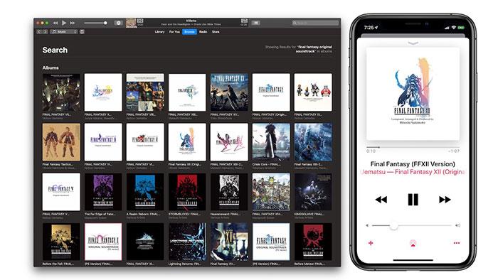 اسکوئر انیکس اپل موزیک