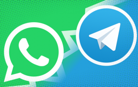 رمزگذاری end-to-end تلگرام و واتساپ