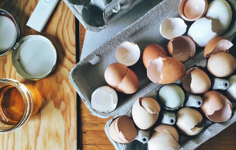 پوسته تخم مرغ برای گیاهان خانگی