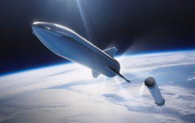 فضاپیمای استارشیپ اسپیسایکس