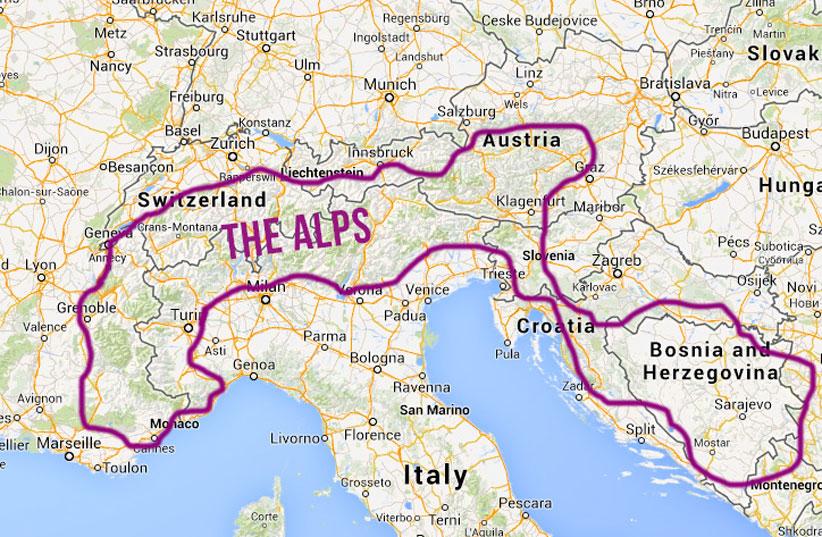 کوههای آلپ