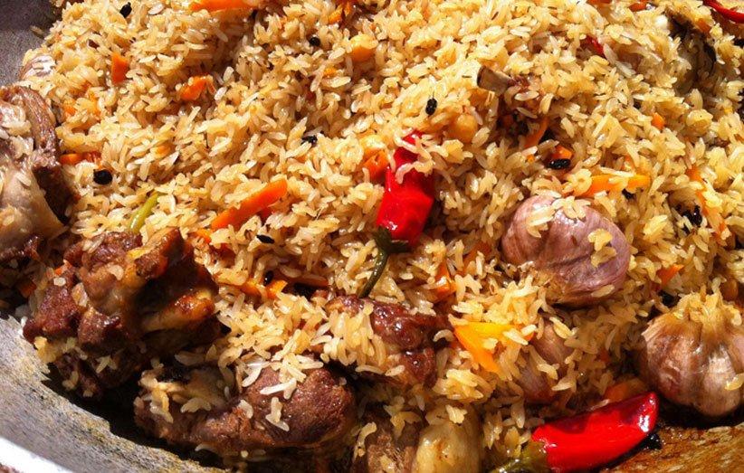 غذای ترکمن صحرا