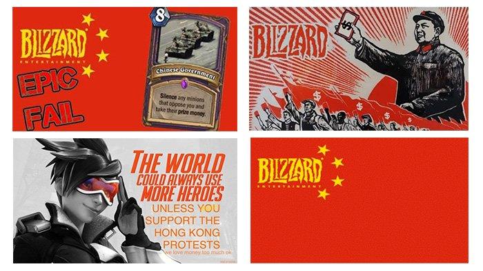 Blizzard Hong Kong Posters