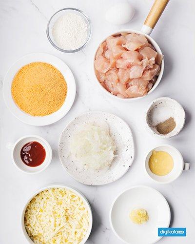 دستور پخت ناگت مرغ خانگی