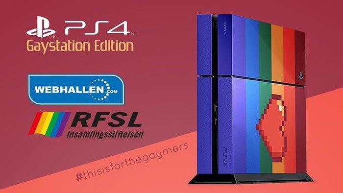 Gaystation 4 PS4