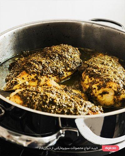 خورش مرغ ترش گیلانی