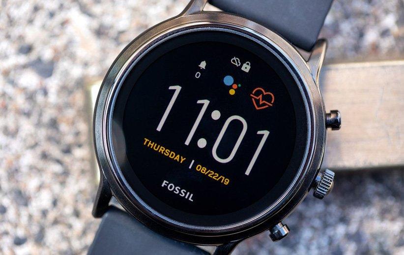 نسل پنجم ساعت هوشمند فسیل