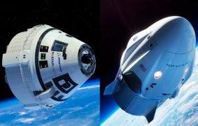 فضاپیمای سرنشیندار اسپیسایکس بویینگ