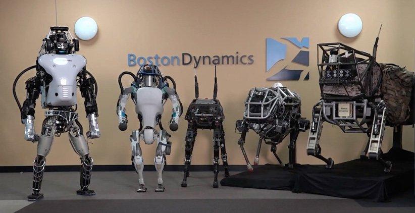 کمپانیهای رباتیک مختلف