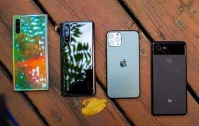 آمار فروش گوشیهای هوشمند