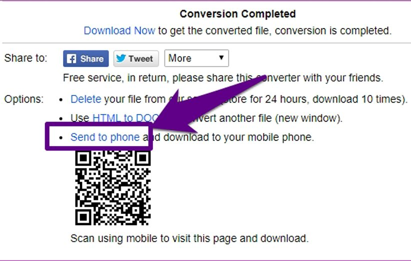 تبدیل صفحات وب به فایل Word