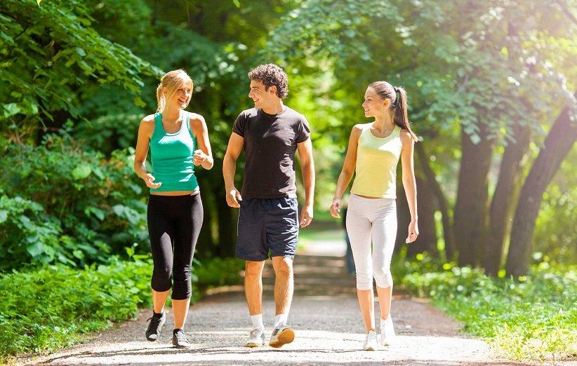 عضلات درگیر در پیادهروی