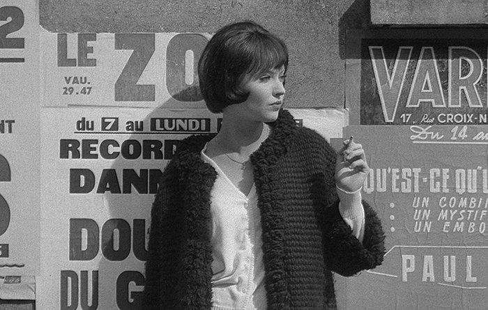 آنا کارینا در فیلم Vivre Sa Vie