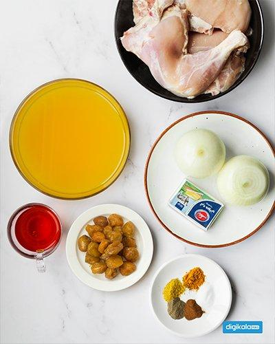 دستور پخت مرغ پرتقالی