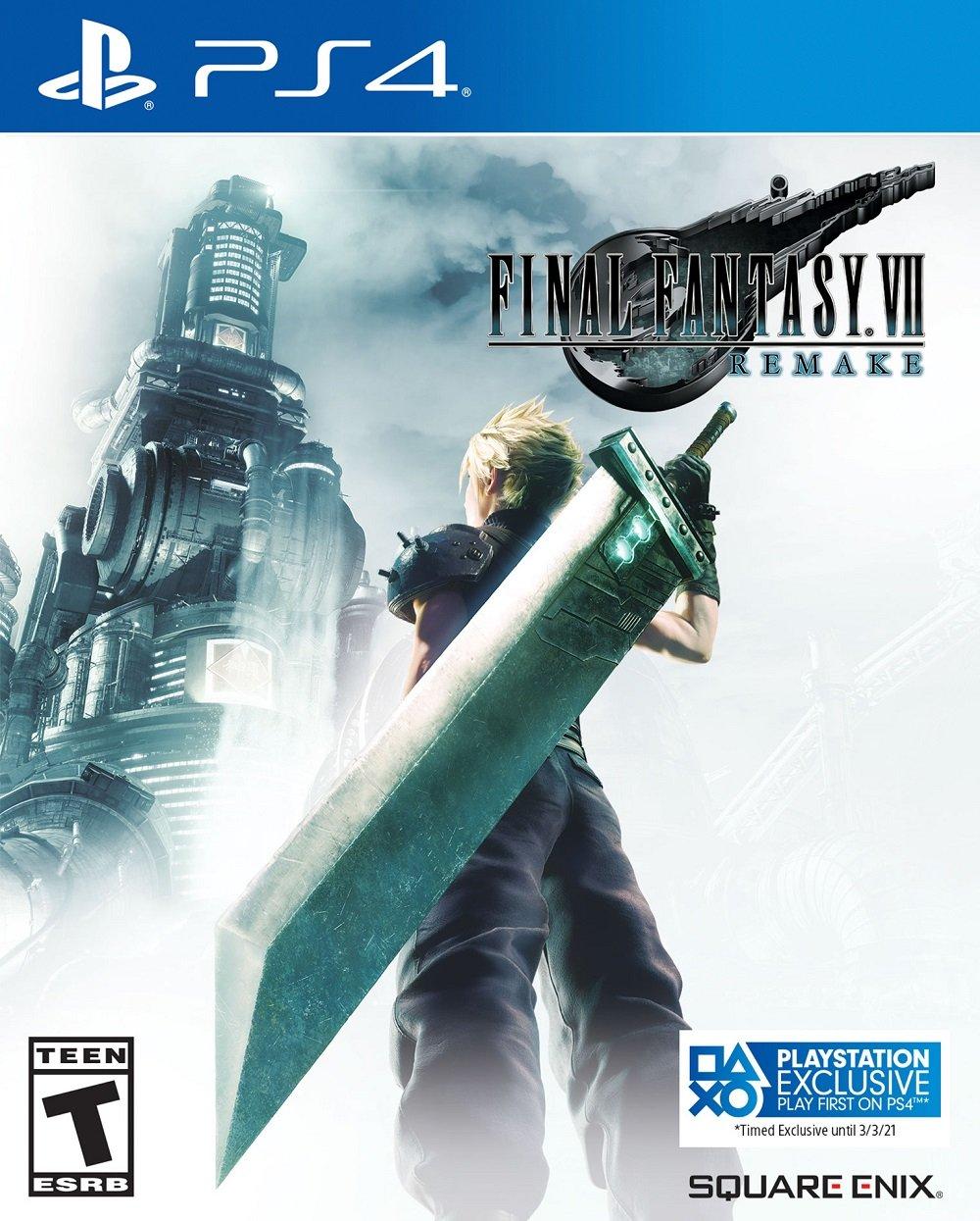 عکس روی جلد بازی Final Fantasy VII Remake