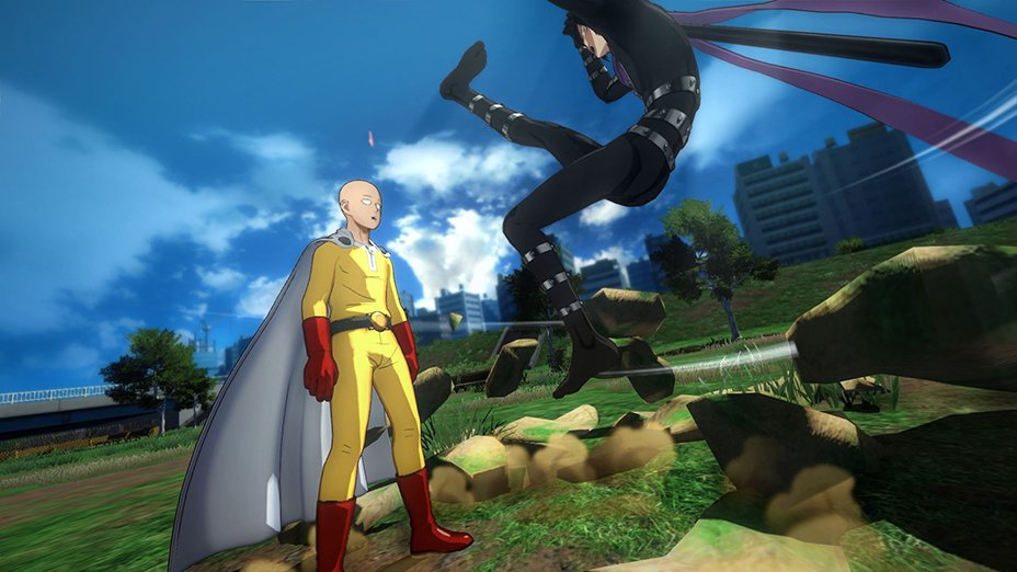 بازی One Punch Man A Hero Nobody Knows