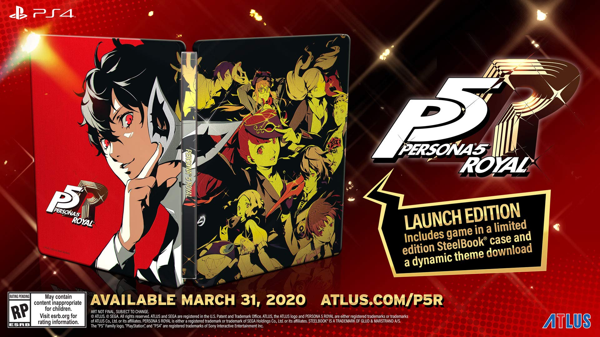 نسخه معمولی بازی Persona 5: The Royal