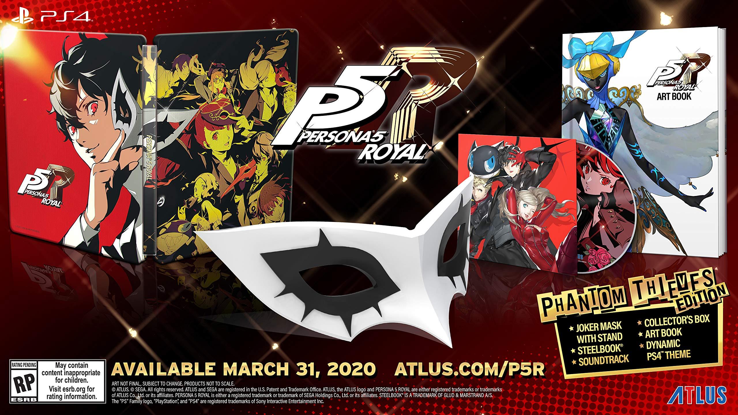 نسخهی ویژه بازی Persona 5: The Royal