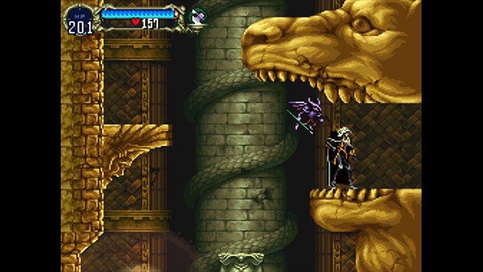 بازی Castlevania: Symphony of the Night