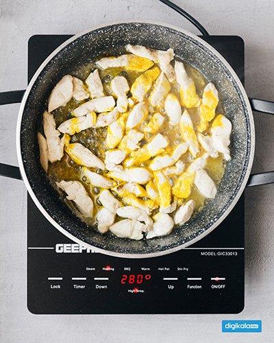 مرغ خرد شده