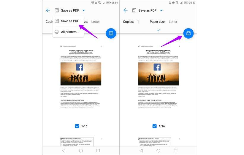 تبدیل فایل به pdf