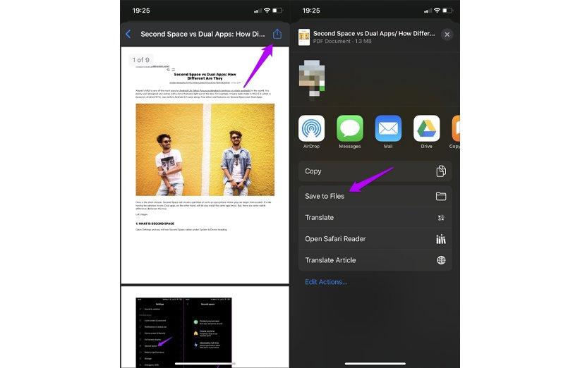 تبدیل صفحات وب به pdf