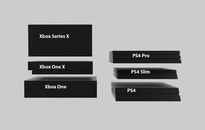 اندازهی Xbox Series X