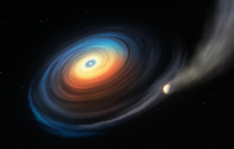 داستان غول و کوتوله؛ کشف سیارهای غولپیکر به دور یک کوتوله سفید